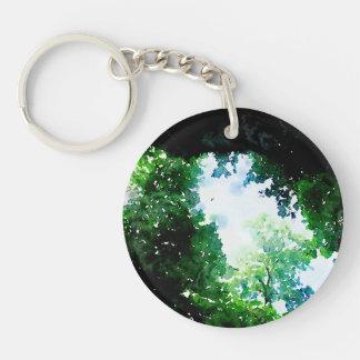 Fruchtbares Laub Keychain Schlüsselanhänger