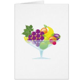 Fruchtcocktail Karte