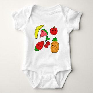 Früchte Baby Strampler