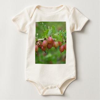 Früchte einer Stachelbeere Baby Strampler