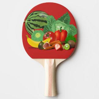 Früchte Tischtennis Schläger