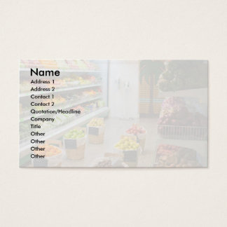 Fruchtgeschäft Visitenkarte