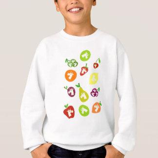 Fruchtige Einhörner Sweatshirt