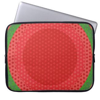 Fruchtige, saftige geometrische laptop sleeve