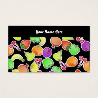Fruchtige Tapete, Ihr Name hier Visitenkarte
