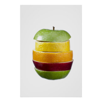 Fruchtiges Plakat