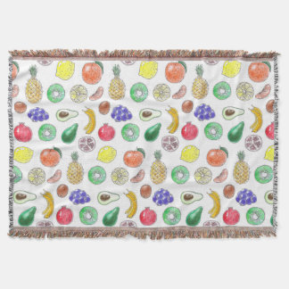 Fruchtmuster Decke