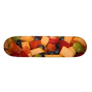 Fruchtsalat-Foto 20,6 Cm Skateboard Deck