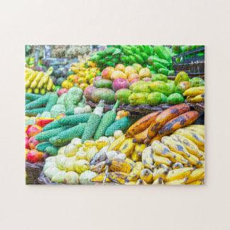 Fruchtstall in den Grenadinen Puzzle