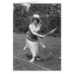 Frühe 1900s Tennis-Mode