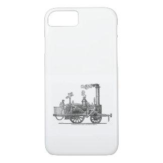 Frühe Dampf-Lokomotive iPhone 8/7 Hülle