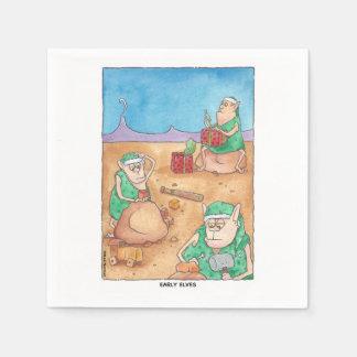 Frühe Elf-Servietten Papierservietten