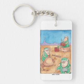 Frühe Elfe Keychain Schlüsselanhänger