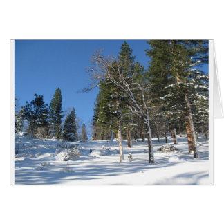 Früher Morgen in den Sierra Karte