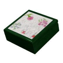 Frühjahr-Blumen Geschenkboxen
