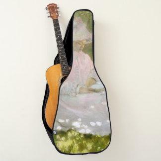 Frühjahr durch Claude Monet Gitarrentasche