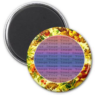 Frühjahr-Hochzeits-Magnet Runder Magnet 5,7 Cm