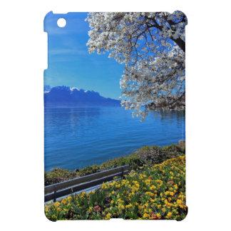 Frühjahr in Genf oder Leman See, Montreux, Swit iPad Mini Hülle