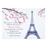 Frühjahr in Paris-Einladung