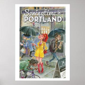 Frühjahr in Portland-lrg Poster