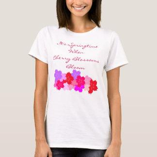 Frühjahr-Kirschblüten T-Shirt