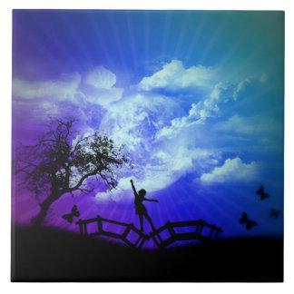 Frühjahr-Kunst-Entwurf - Keramik-Foto-Fliese Fliese