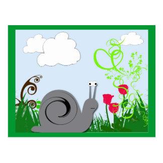 Frühjahr-Postkarte Postkarte
