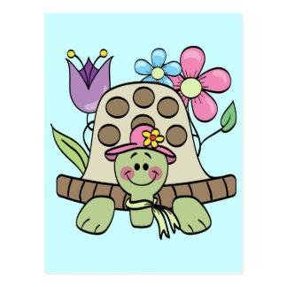 Frühjahr-Schildkröte-T-Shirts und Geschenke Postkarte