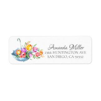 Frühjahr-Tulpe-BlumenRücksendeadresse