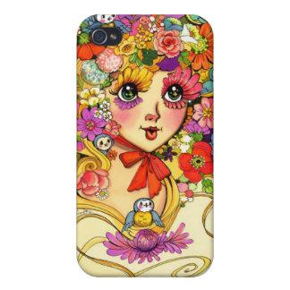 Frühjahrreverie-Blumen Abloom iPhone 4 Cover
