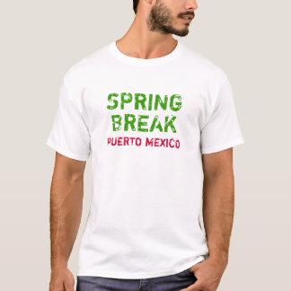Frühjahrsferien Puerto Mexiko T-Shirt