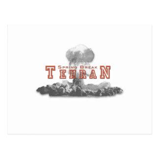 Frühjahrsferien Teheran der Iran Postkarte