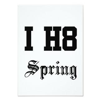 Frühling 12,7 X 17,8 Cm Einladungskarte