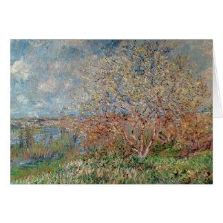 Frühling Claude Monets |, 1880-82 Karte