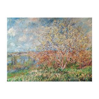 Frühling Claude Monets |, 1880-82 Leinwanddruck