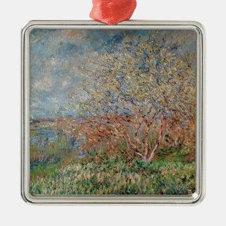 Frühling Claude Monets  , 1880-82 Silbernes Ornament
