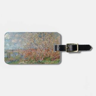 Frühling Claude Monets | Kofferanhänger