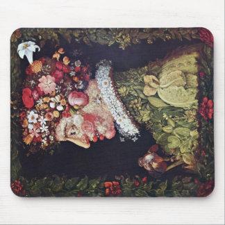Frühling durch Giuseppe Arcimboldo Mousepad