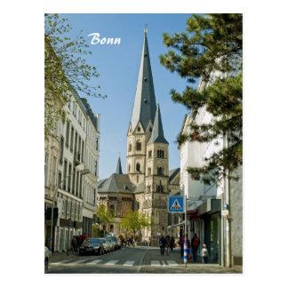 Frühling in Bonn Postkarte