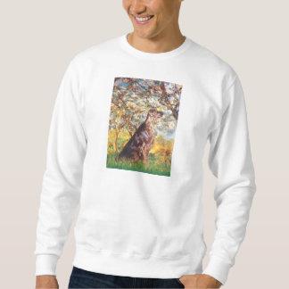 Frühling - Irischer Setter 2b Sweatshirt