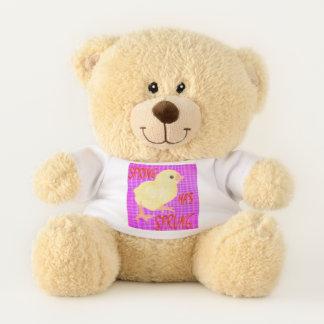 Frühling ist entsprungen teddybär