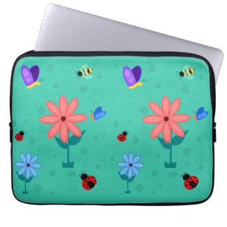 Frühling ist hier! laptop sleeve schutzhüllen
