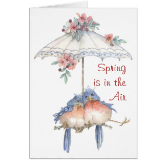 Frühling ist in der Luft - Karte