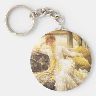 Frühling (Küste) durch James Tissot, Vintages Schlüsselanhänger