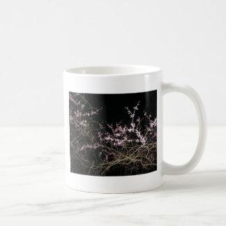 Frühling redbud nachts kaffeetasse