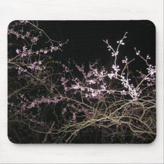 Frühling redbud nachts mousepad