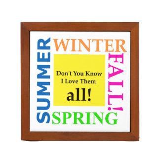 Frühling, Sommer, Winter, Fall