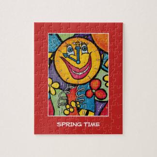 Frühling - Zeit-Stücke Puzzle