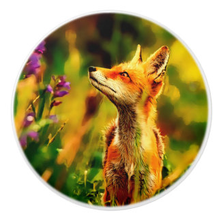 FrühlingFox Keramikknauf