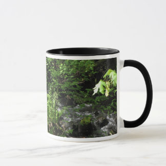 Frühlings-Bach-Tasse Tasse